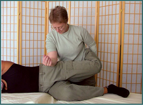 Bridges to Health Seminars Thigh Massage
